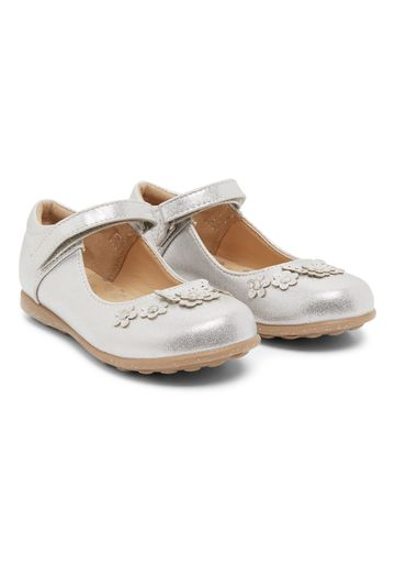 Mothercare | Girls Corsage Shoes - Silver