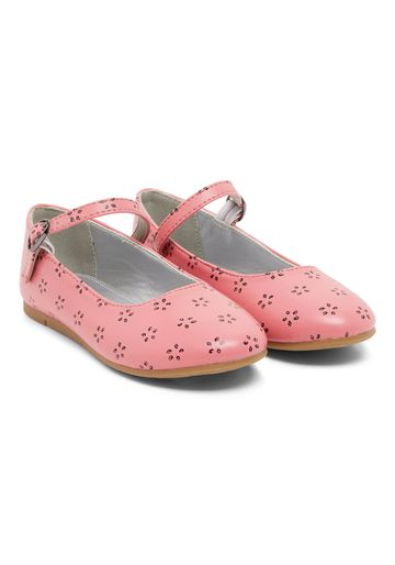 Mothercare | Coral Girls Flower Shoes