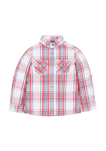 Mothercare | Boys Check Shirt - White Red