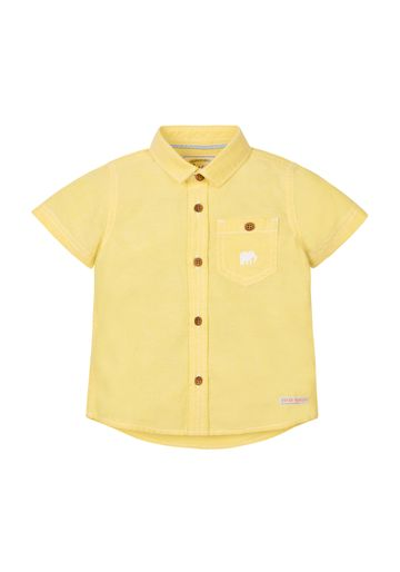 Mothercare | Boys Half Sleeves Oxford Shirt - Yellow