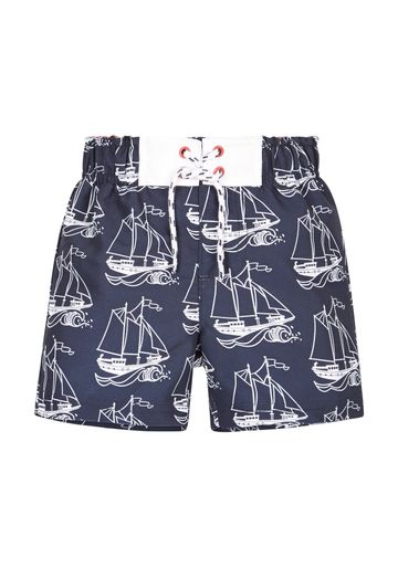Mothercare | Navy Boys Boat Boardshorts