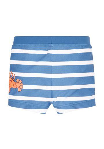 Mothercare | Boys Lobster Swimming Trunks - Blue & White