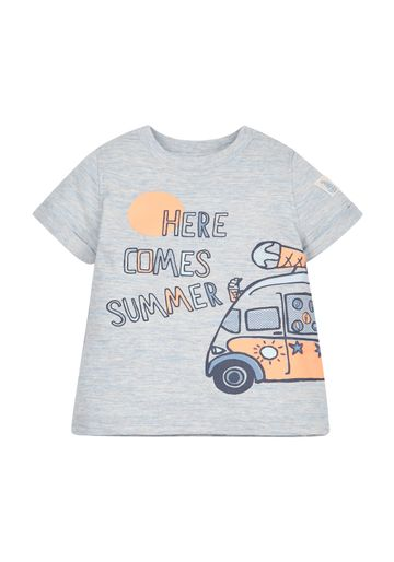 Mothercare | Boys 'Here Comes Summer' Tee - Grey