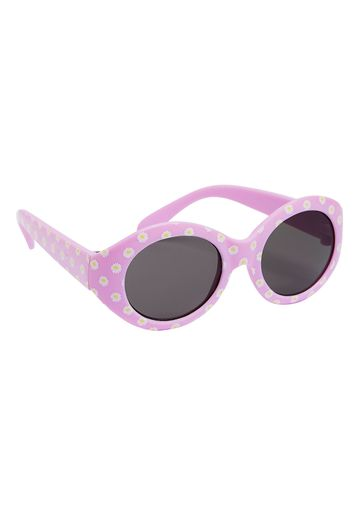 Mothercare | Girls Sunglasses Floral Print - Pink