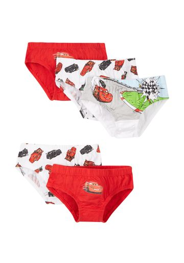 Mothercare | Boys Briefs Car Print - Pack Of 5 - Red