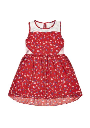 Mothercare | Girls Floral Dress - Red