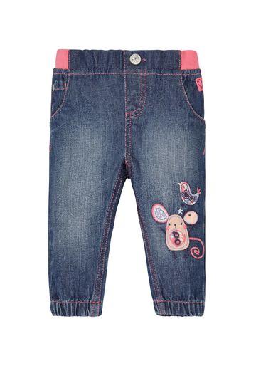 Mothercare | Girls Ribwaist Jeans - Denim