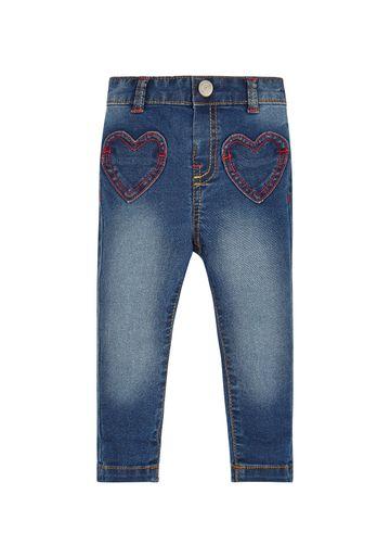 Mothercare | Girls Denim Heart Jeans