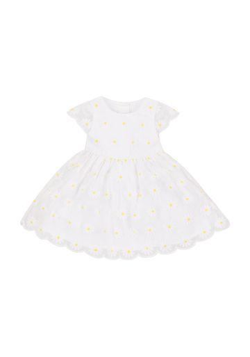 Mothercare | Girls Daisy Dress - White