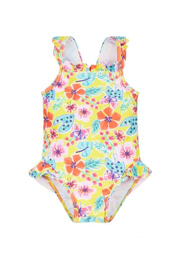 Mothercare | Multicolor Girls Floral Frill Swimsuit