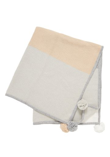 Mothercare | Unisex Shawl Patchwork - Multicolor