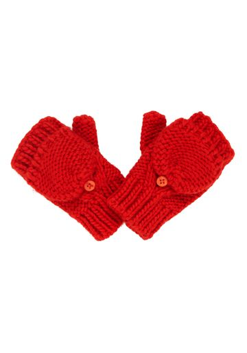 Mothercare | Boys Mittens Cable Knit - Red