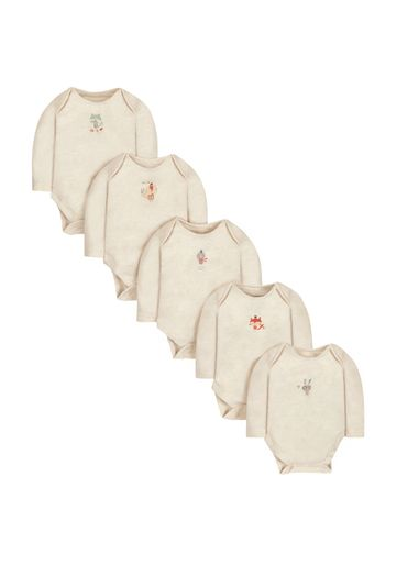 Mothercare | Forest Friends Bodysuits - 5 Pack