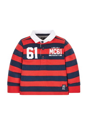 Mothercare   Red & Blue Striped Sweatshirt