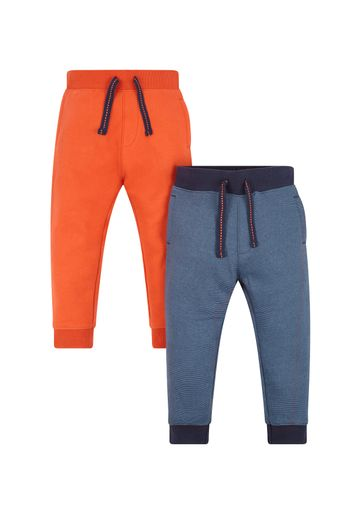 Mothercare   Boys Joggers Striped - Pack Of 2 - Multicolor