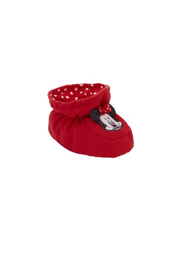 Mothercare | Girls Booties Minnie Mouse Detail - Red