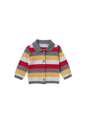 Mothercare | Girls Full Sleeves Cardigan Stripe - Multicolor