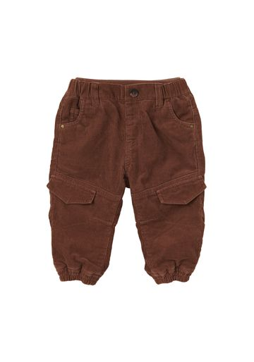 Mothercare | Boys Cord Trousers Jersey Lined - Brown
