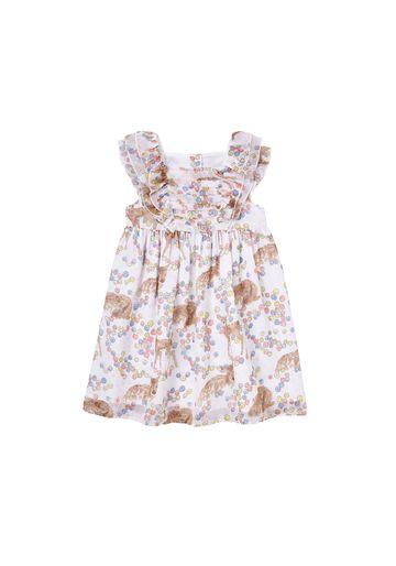 Mothercare   Girls Deer Dress  - Cream