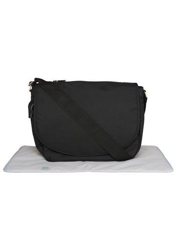 Mothercare | Mothercare Messenger Changing Bag Black
