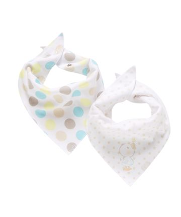 Mothercare | Mothercare Duck And Bird Dribbler Bibs Pack of 2 Multi