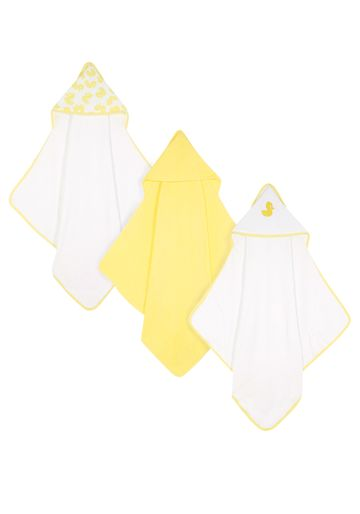 Mothercare | Mothercare Duck Cuddle 'N Dry Pack of 3 Yellow
