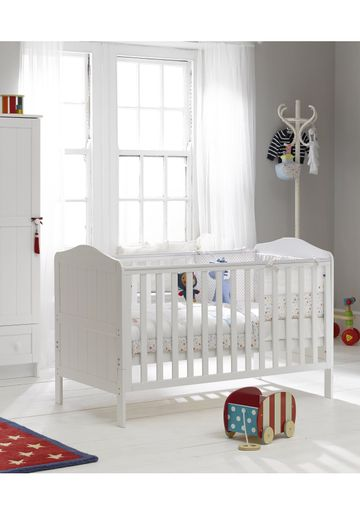 Mothercare | Mothercare Darlington Baby Cot Bed - White