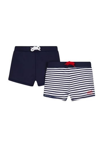 Mothercare   Navy Stripe Trunkies