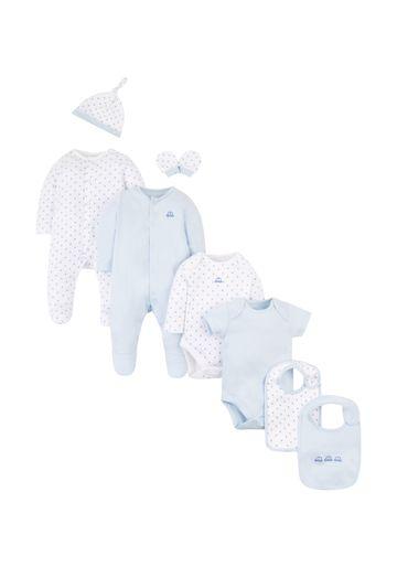 Mothercare | Boys 8 Piece Set Printed - White
