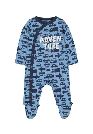 Mothercare | Boys Adventure Transport Sleepsuit - Blue