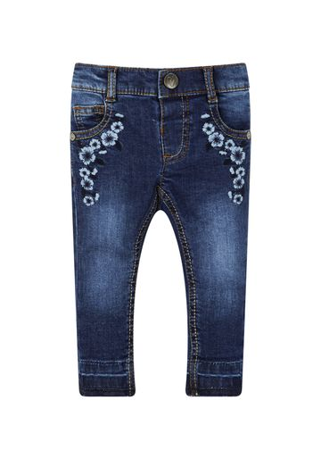 Mothercare | Girls Denim Embroidered Jeans - Denim