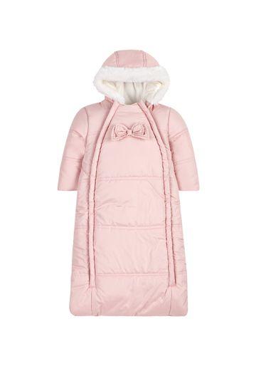Mothercare | Girls Bow Snowbag - Pink
