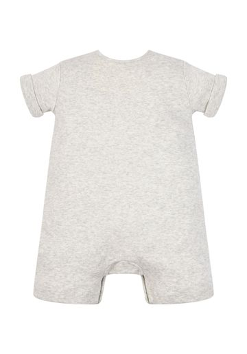 Mothercare | Unisex Grey Happy Romper - Grey