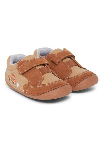 Mothercare | Brown Crawler Shoes