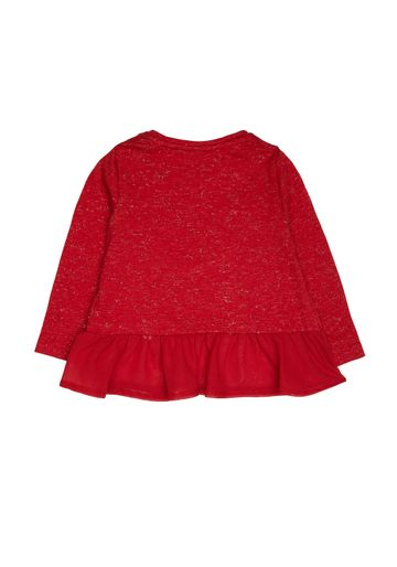 Mothercare | Girls Heritage Red Bow T-Shirt - Red