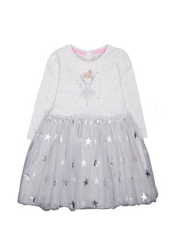 Mothercare | Grey Printed Dress - Pack of 2