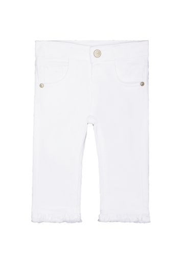 Mothercare   White Solid Jeans