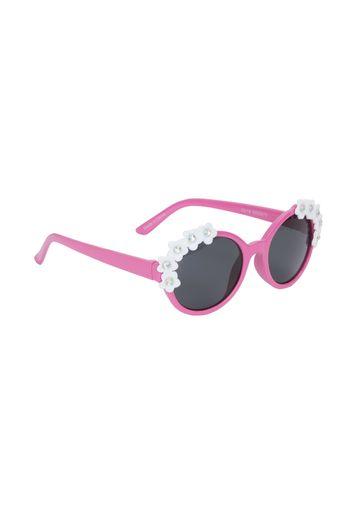 Mothercare | Girls Pink 3D Flower Sunglasses - Pink