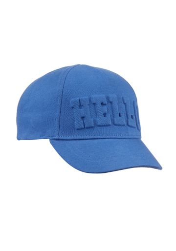Mothercare | Boys Blue Hello Cap - Blue