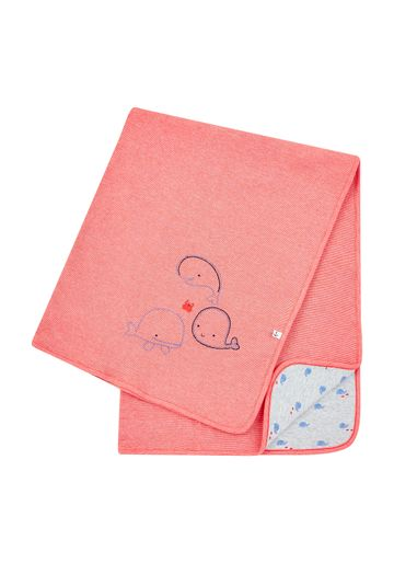 Mothercare | Boys Red Whale Shawl - Red