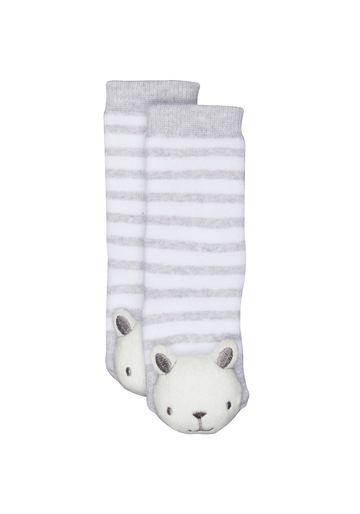Mothercare   Unisex Teddy Rattle Socks - Multicolor