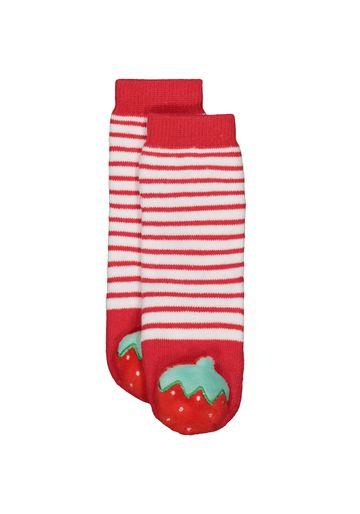 Mothercare | Girls Strawberry Rattle Socks - Pink
