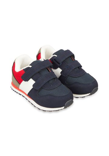 Mothercare | Navy And Red Sporty Trainers