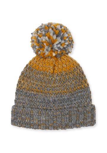 Mothercare | Boys Grey And Mustard Beanie Hat - Mustard
