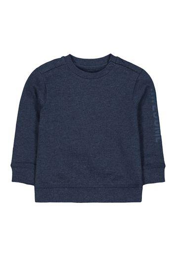 Mothercare | Boys Full Sleeves Sweatshirt Text Print - Navy