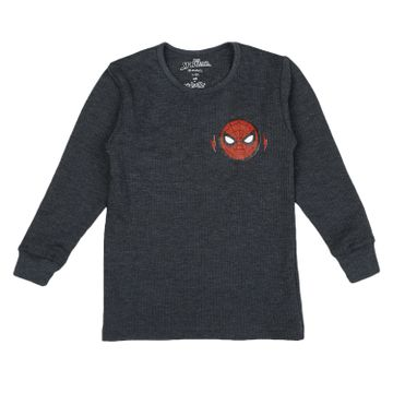 Mothercare | Boys Spiderman Full Sleeves Thermal Top - Navy