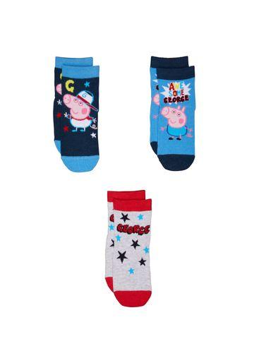 Mothercare | Boys George Pig Socks - 3 Pack - Multicolor
