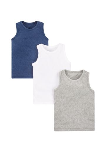 Mothercare | Marls Vests - 3 Pack