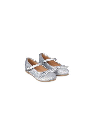 Mothercare   Girls Ballerinas All Over Sequins - Silver