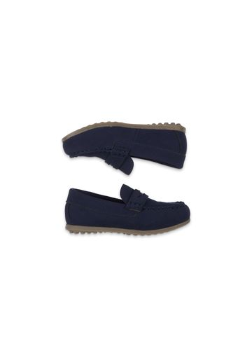 Mothercare | Boys Navy Loafer Shoes - Navy